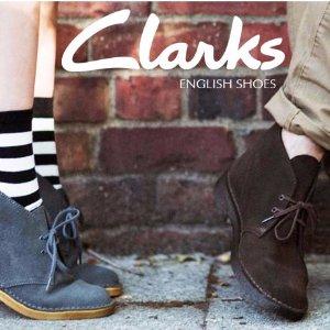 额外8折Clarks 精选时尚美鞋促销