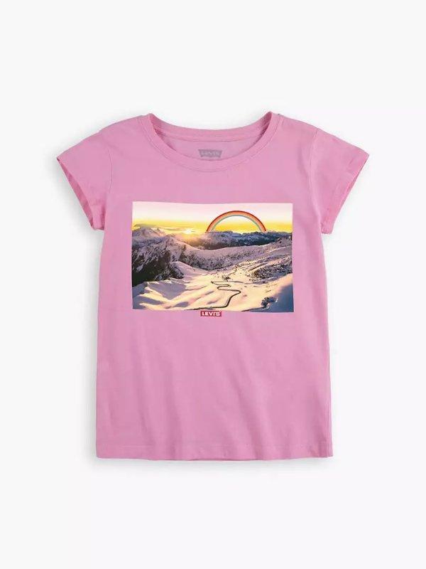 女童T恤 S-XL