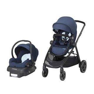 $339.99(原价$399.99)史低价:Maxi-Cosi Zelia 5-合-1 童车+提篮式安全座椅