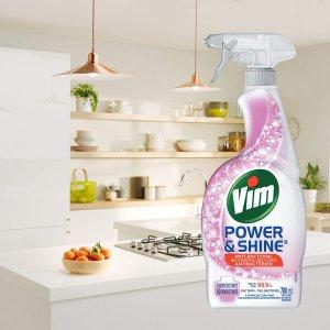 $2.99(原价$4.49)收700mlVim Power&Shine 抗菌清洁喷雾 可杀死99.99%的细菌