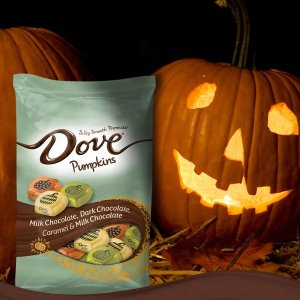 $8.99DOVE PROMISES Variety Mix Harvest Halloween Chocolate Candy Pumpkins 24-Ounce Bag