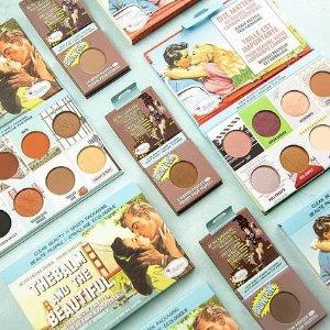 返$30+送4支口红+4件套The Balm 美国复古彩妆 收裸男裸女沙滩眼影盘