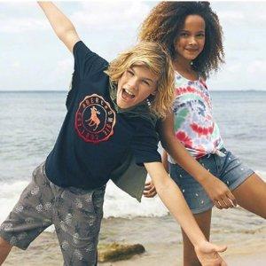 全场6折即将截止:Abercrombie & Fitch 童装童鞋等促销 会员专享