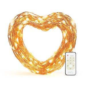 $8.65 (原价$16.99)eufy LED 防水装饰串灯 33ft