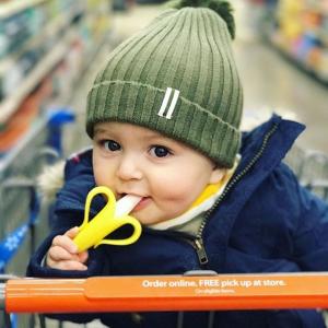妈妈超爱 $9.99(原价$12.99)Baby Banana 宝宝婴儿牙刷牙胶 - 4款可选