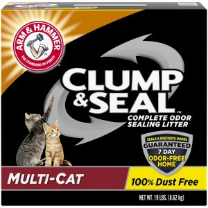 Arm & HammerMulti-Cat Clump and Seal Complete Odor Sealing Cat Litter | Petflow