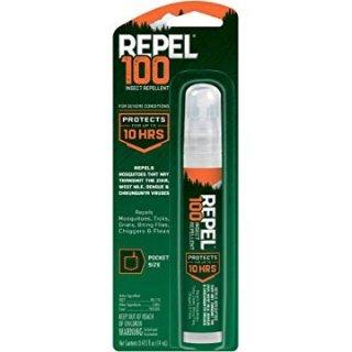 $2.97(原价$4.44)白菜价:Repel 防虫喷剂 14ml 春天出游必备 小巧便携
