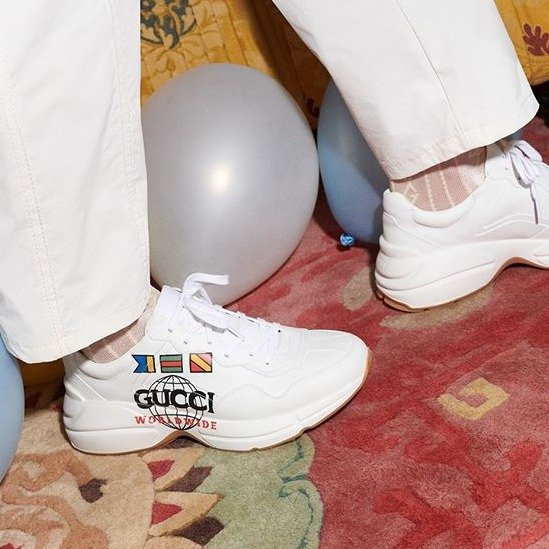广告款老爹鞋