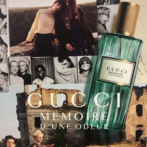 7折直接买 40ml/60ml/100ml都有货Gucci 记忆味道香水上新 哈卷同款的夏日清新香味