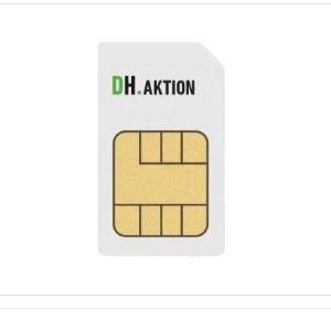 每月可解约20 GB LTE 包月上网+包月电话短信 月租€14.99