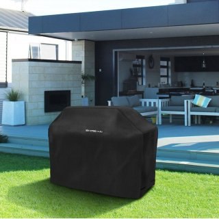 $12.49SHINE HAI 64-Inch BBQ Grill Cover, Waterproof 600D Heavy Duty Gas Grill Cover for Weber Brinkmann, Char Broil, Holland and Jenn Air, Black