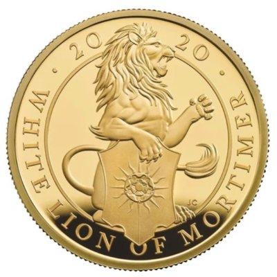 全球抢购 限量发行上新:英国皇家铸币厂推出2020年女王神兽系列 莫蒂默白狮纪念币