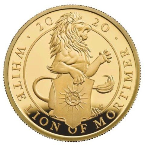 限量发行 全球抢购 预定从速上新:皇家铸币厂 I 2020年女王神兽系列 莫蒂默白狮纪念币