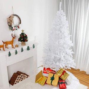 150cm白色圣诞树