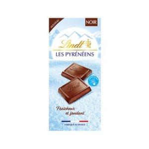 Lindt冰山巧克力 黑巧克力味150g