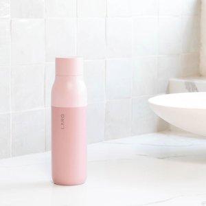 自动清洁保温杯 500ml - 粉色