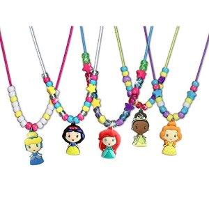 $6.29(原价$12.99)史低价:迪士尼公主项链,手工制作独一无二的梦幻项链