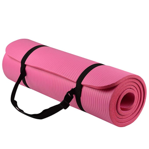 $12.99BalanceFrom GoYoga All-Purpose 1/2-Inch Extra Thick High Density Anti-Tear Exercise Yoga Mat with Carrying Strap