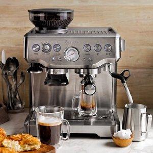 $432.48 再降 晒货区爆款Breville BES870XL 专业意式咖啡机 2色可选