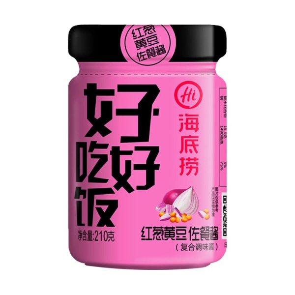 红葱黄豆佐餐酱 210g