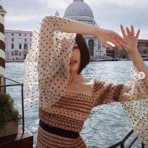 3折起  £108收仙女裙Self Portrait 仙女连衣裙大促 冰点价入手经典款
