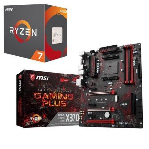 $299AMD RYZEN 7 1700X 8C16T + MSI X370 GAMING PLUS MB
