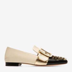 BallyJANELLE铆钉乐福鞋