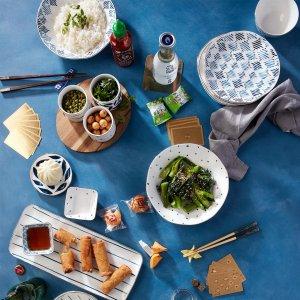 低至1折 全场包邮限今天:Lenox 全场餐具茶具陶瓷装饰品热卖 收清仓区好物