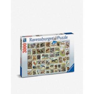动物邮票拼图 3000 pieces