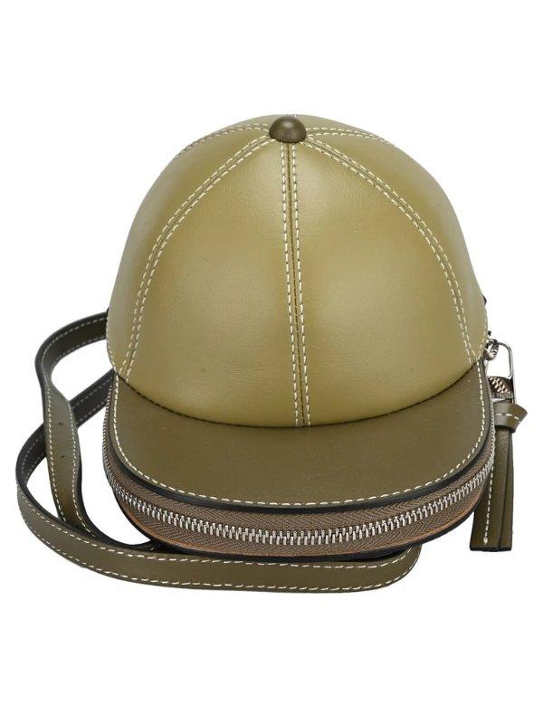 Midi Cap咸菜绿帽子包