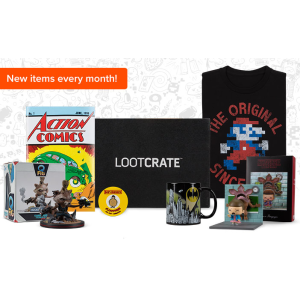Up to get 30% OffGrad Sale @ Loot Crate