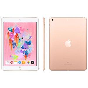 $359.99(原价$429.99)iPad 9.7'' 32/128GB 2018款 支持Apple Pencil 记笔记神器