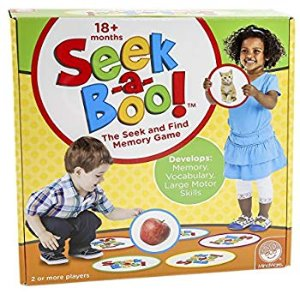 Amazon.com: MindWare Seek-a-Boo Game: Toys & Games