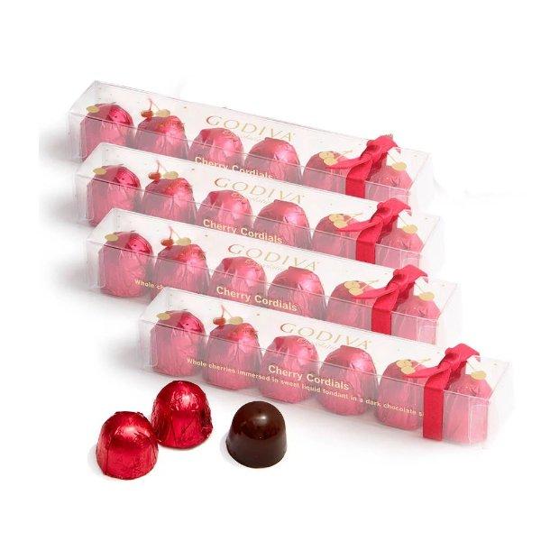 樱桃酒心巧克力6颗 4盒