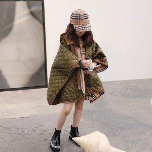 低至4折+免邮Burberry 时尚单品热卖,法式风衣,经典棉服,羊绒围巾都有