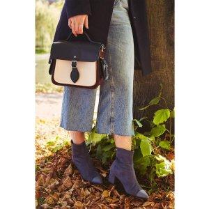 Cambridge SatchelTraveller Bag 单肩包 - Clay, Oxblood & Navy