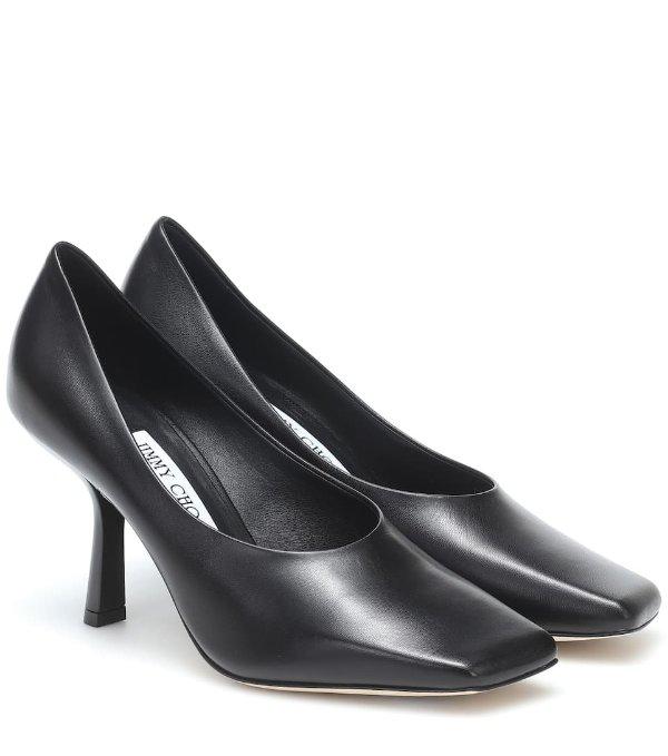 Marcela 85 方头高跟鞋
