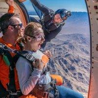 拉斯维加斯跳伞体验