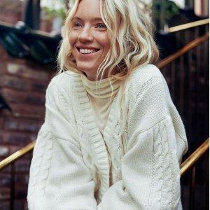 5折起 £4就收必备毛衣上新:H&M 黑五预热毛衣、开衫大促 超柔软材质 法式高级优雅在此