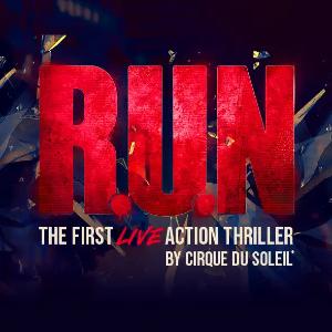 $59起 + 免费2等座位升级太阳马戏团大秀首部好莱坞动作剧 R.U.N  限时促销