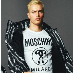 经典款男士白衬衫€195Moschino 2020早春复古系列上市 个性拉链超酷男装开卖