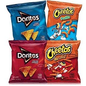 $7.78 每包$0.19Frito-Lay Doritos &Cheetos 混合多种口味 40包