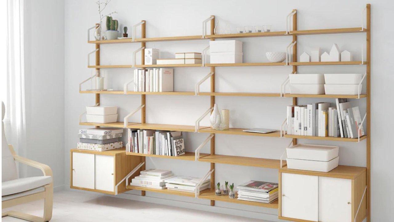 家居好物&家具购买 那些热卖的IKEA的收纳柜, 收纳篮, 收纳架, 和收纳板们(ALEX/SKADIS/HEMNES/LACK)
