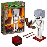 Lego Minecraft 骷髅弓箭手和岩浆怪 21150