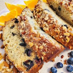 熟透的烂香蕉也是宝软糯香甜的蓝莓Banana Bread手把手教你做