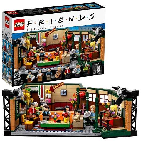 $69(原价$89)史低价:LEGO 老友记-中央公园咖啡馆 21319