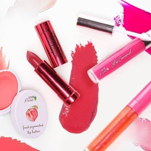 Get Free Select Shades of Lipstick With $30+ Order100% Pure Skin Care Products Sale