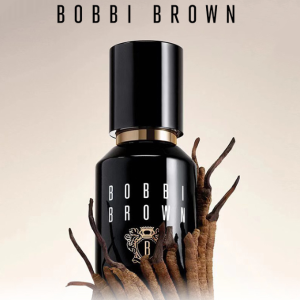 送3件套(价值$75)Bobbi Brown 虫草粉底液 可以养肤的粉底