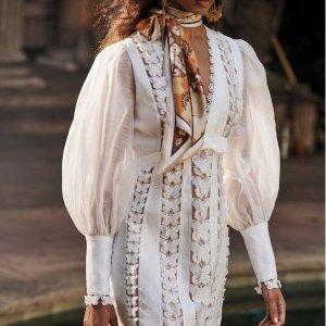 6折+包所有税费 收封面款欧洲夏日剁手季:Zimmermann 仙女美裙 $367收蕾丝上衣