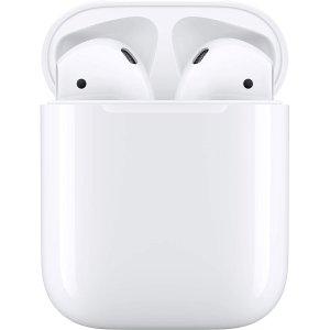 $119包邮 可叠信用卡优惠Apple AirPods 2代 有线充电版/无线充电版 好价热卖